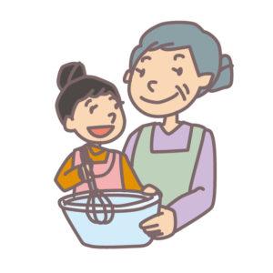 おばあちゃんと料理