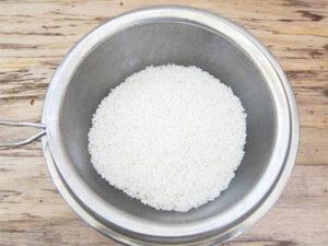 米の炊き方
