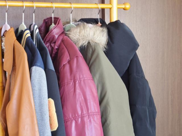 冬物衣替え