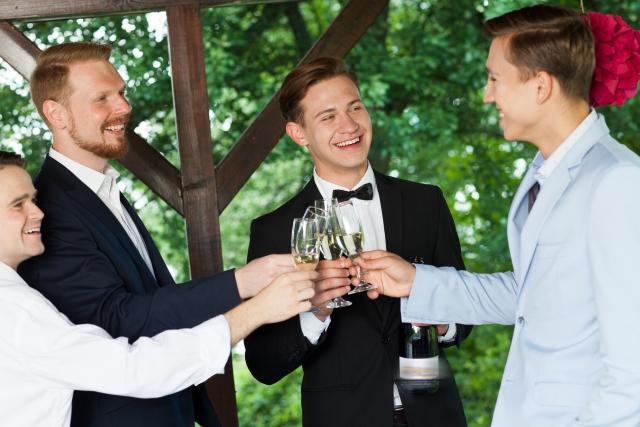 結婚式の男性服装マナー